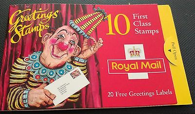 GB:1995:10 x 1st Class-Greetings Stamps.Booklet.MNH.