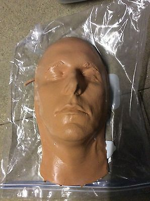 Christian Bale Silicon Life Cast Batman Dark Knight Movie Film Prop