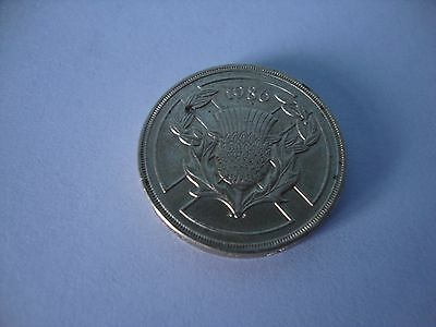 "1986 UK SCOTTISH COMMONWEALTH Games  £2 ""Thistle""  COIN. Uncirculated"