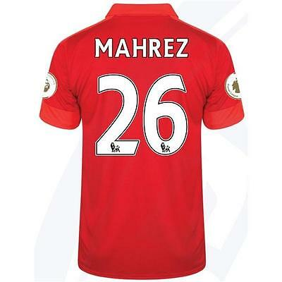 LEICESTER CITY Away jersey MAHREZ 26 for size Large