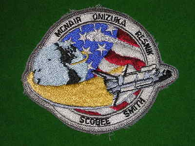 NASA Space shuttle STS 51-L Crew Embroidered Patch