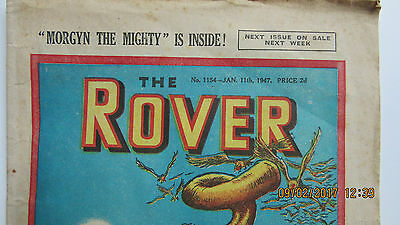 January 1947 'The Rover' comic