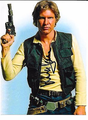 Harrison Ford Autograph Star Wars Vintage Auto Signed Coa