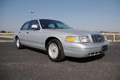 2001 Ford Crown Victoria LX Sedan 2001 Crown Victoria LX One Owner 58,000 ORIGINAL Miles! One Of A Kind Nice!