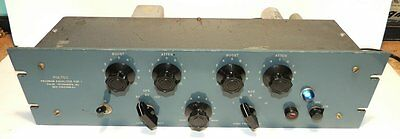 Pultec Program Equalizer EQP-1 Excellent Working Cond All Original From 1950's