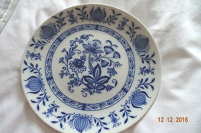 Winterling Blue Floral Bavaria Bone China Plates In Excellent Condition