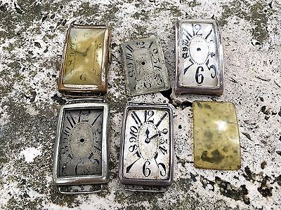 Vintage Rare  Exaggerated Numbers Big Men Watch Lot For Parts Spares Repairs