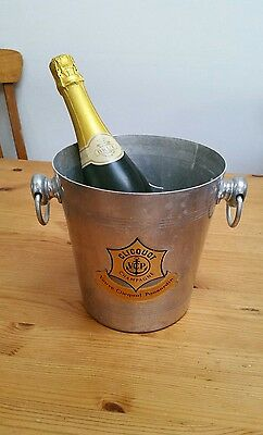 VEUVE CLICQUOT STAR  Champagne Vintage Cooler Ice Bucket
