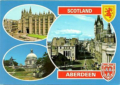 Aberdeen - Multiview - Scotland - Dennis Postcard