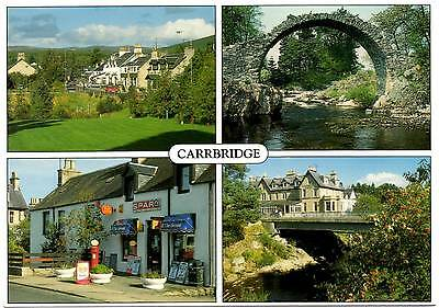 Carrbridge - Inverness-shire - Scotland - Multiview - Postcard