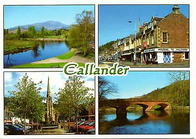 Callander - Scotland - Multiview - Postcard 2008