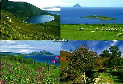 Arran - Isle of Arran - Multiview - Scotland - Postcard 2007