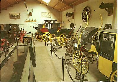 Carriage Room in Old Blacksmith's Shop - Gretna Green - Scotland - Postcard 1991