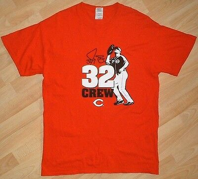 MLB - Cincinnati Reds - Casual/Leisure Shirt/Jersey - #32 Jay Bruce - Adult - L