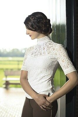 New Release! Limited Edition Hkm Lauria Garrelli Queens Lace Competition Shirt