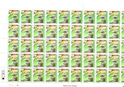 Zimbabwe 2005 Commemorations Sheet of $6900 stamps- SG 1167 MNH