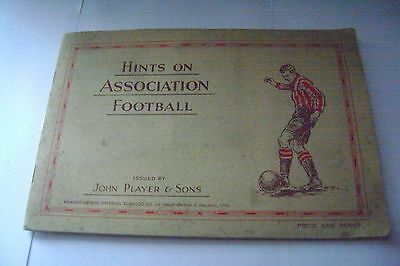 Hints On Association Football Full Album & Cards By John Player & Sons