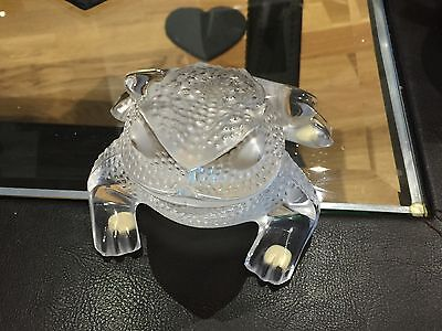 Lalique Gregoire Frog Toad