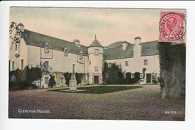 Scotland Perthshire Fortingall Glenlyon House Postcard Posted 1911