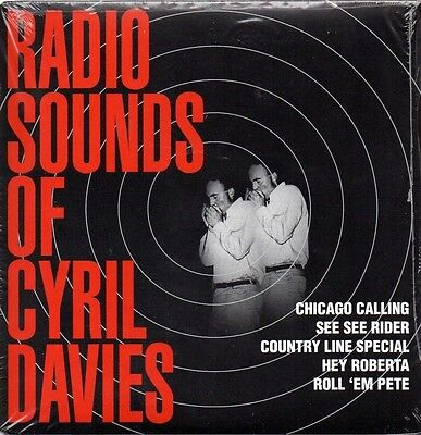 Cyril Davies Radio Sounds Of..mint Ep P/s Mod Jazz R&b Blues Skiffle Free Uk P&p