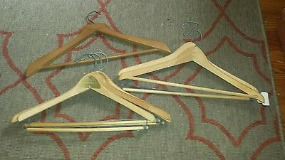 Vintage clothes hangers lot of 6