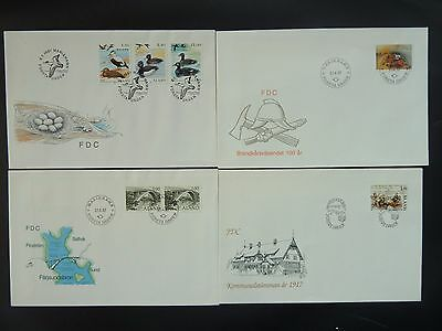Aland 1987 FDC komplett / FDC complet