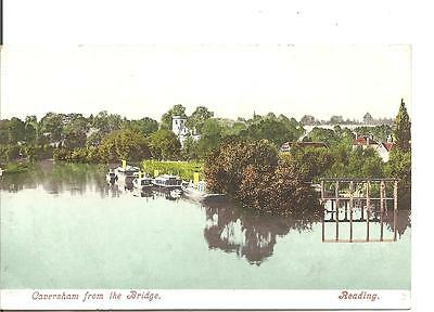 Lovely Vintage Postcard,caversham From The Bridge,reading,berkshire