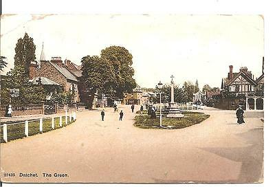 Lovely Vintage Postcard,the Green,datchet,windsor,berkshire,1910
