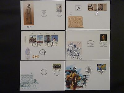 Aland 1992 FDC komplett / FDC complet