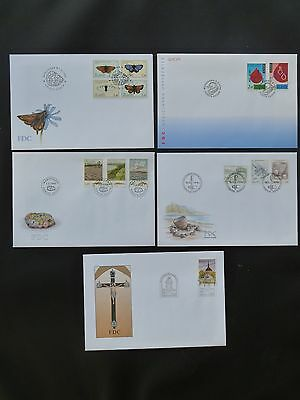 Aland 1994 FDC komplett / FDC complet