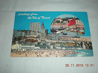 Old Unused Postcard by Photo View  Greetings from the Isle of Thanet - 11720