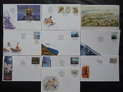 Aland 2004 FDC komplett / FDC complet