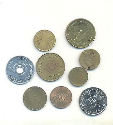 Very Nice Rare.mixed Lot Of Token..very Collectable.c.52