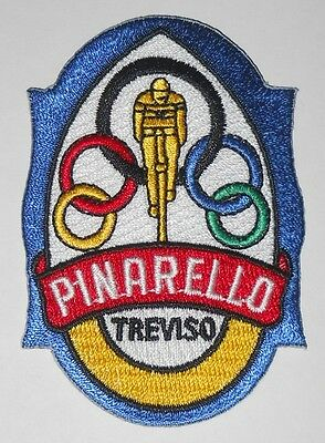 Pinarello Bicycle Embroidered Patch Italian Vintage Bike Head Badge Crest