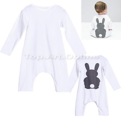 Newborn Baby Boys Girls Romper Bodysuit Jumpsuit Newborn Overall Clothes Outfits