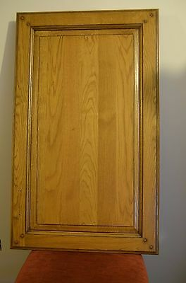 Solid Oak Wood Kitchen Unit Doors