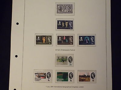 1963  Great british stamps, collectors, hobby ,home, dealers mint condition