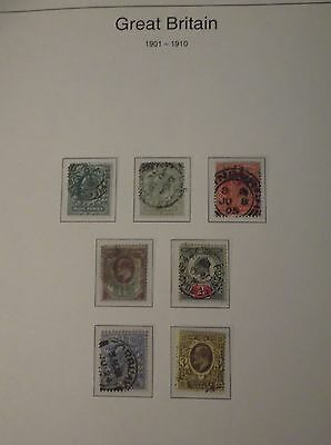 1901 - 1910 Great british stamps, collectors, hobby ,home, dealers
