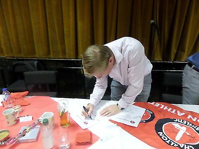 GARRY NELSON**signed**CHARLTON ATHLETIC LEGEND**NO RESERVE**
