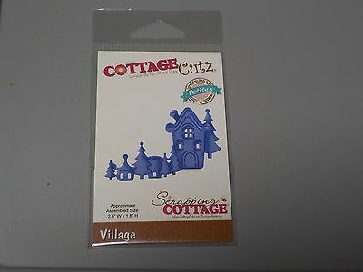 Scrapping Cottagecutz Village Petites Cutting Die Ccp-062 New Nip A890