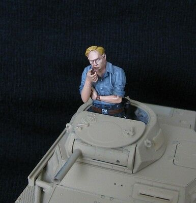 1/35 WWII German Tanker Figure Built and Painted