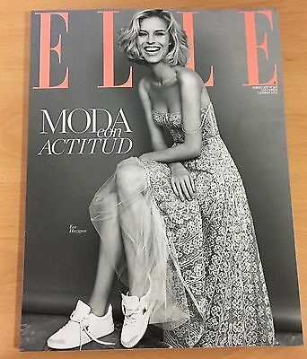 Eva Herzigova Subscriber Cover Elle Spain February 2017 Nadal Jennifer Connelly