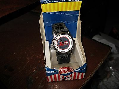 Vintage Pepsi-Cola Wristwatch With New Battery