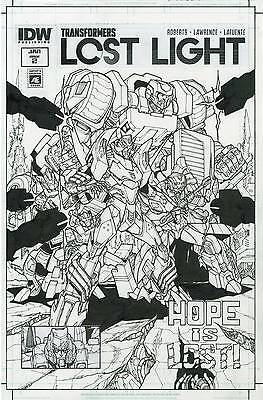 Transformers Lost Light #2 Artist's Edition Variant NM