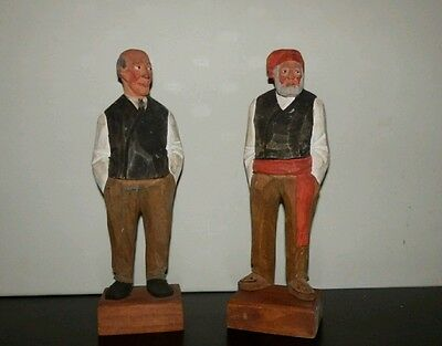 large wooden carved figures hannah canada