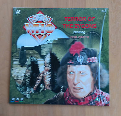 Doctor Who: Terror of the Zygons (1975) Laserdisc - Encore EE1203 - Rare NM