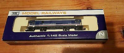 Dapol n gauge Class 73 136 loco in NSE Network South East Livery