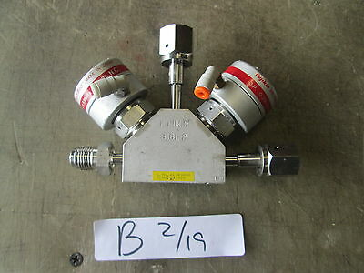 Used Fujikin 3-Way High Pressure Valve 316L-P, Normally Closed MAKE OFFER!!!