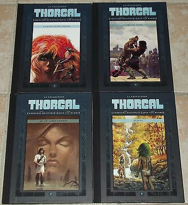 Lot 4 Thorgal Hachette Collections - 1, 4, 5, 8
