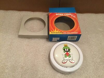 Marvin The Martian Night Light Tap Light W/ Voice Messages Looney Tunes 1999